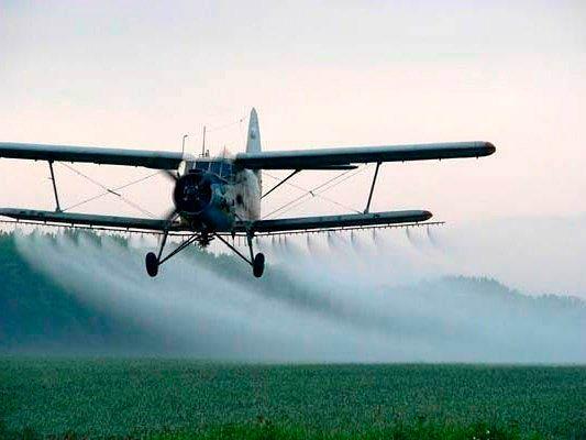 Авиа опрыскивание озимой пшеницы