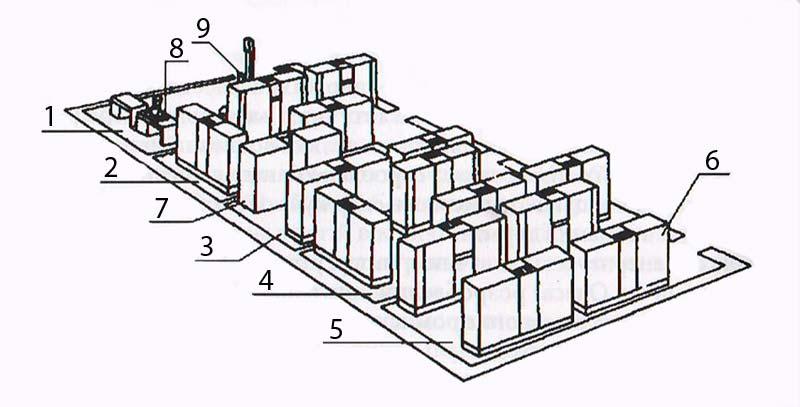 Схема биолаборатории по промышленному разведению подизуса